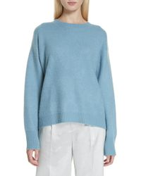 Vince - Boxy Cashmere Sweater - Lyst