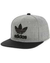 d654adbc35ce adidas Originals - Trefoil Chain Snapback Baseball Cap - - Lyst