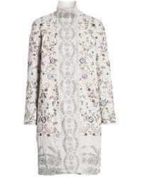 Needle & Thread - Ella Embellished Coat - Lyst