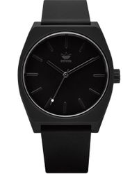 adidas - Process Silicone Strap Watch - Lyst