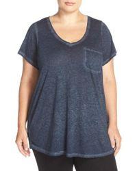 Make + Model | Gotta Have It V-neck Jersey T-Shirt | Lyst