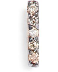 Kismet by Milka - Diamond Stud Earring - Lyst