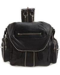 Alexander Wang - Mini Marti Ball Stud Leather Backpack - Lyst
