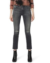 Mother - The Dazzler Ankle Straight Leg Jeans - Lyst