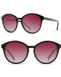 45ba0a4582 Lyst - Shwood  govy 2  52mm Polarized Sunglasses - Fog  Elm  Grey in ...