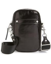 Treasure & Bond - Murphy Glazed Leather Crossbody Bag - Lyst
