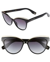 Marc Jacobs - 55mm Cat Eye Sunglasses - Lyst