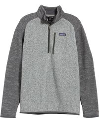 Patagonia - 'better Sweater' Quarter Zip Pullover - Lyst