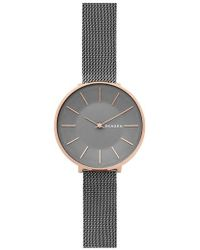 Skagen - Karolina Mesh Strap Watch - Lyst