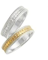 Anna Beck - Two-tone Stacking Rings (set Of 2) - Lyst