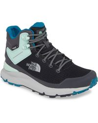 The North Face Vals Waterproof Mid Hiking Boot - Gray