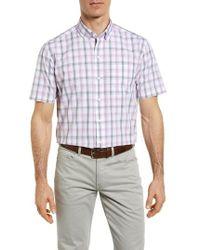 Cutter & Buck - Griffen Non-iron Plaid Sport Shirt - Lyst