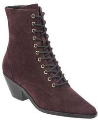 Marc Fisher - Bowie Lace-up Boot - Lyst
