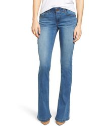 Wit & Wisdom Ab-solution Itty Bitty Bootcut Jeans - Blue