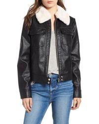 Bernardo - Faux Leather Jacket - Lyst