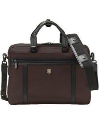 Victorinox Victorinox Swiss Army Werks Pro 2.0 Laptop Briefcase - Brown