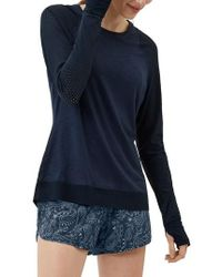 Sweaty Betty - Breeze Long Sleeve Run Tee - Lyst