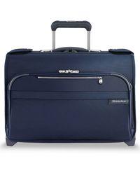 Briggs & Riley Baseline 21-inch Wheeled Garment Bag - Blue