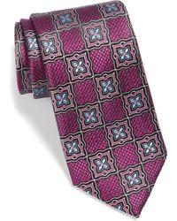 Nordstrom Madeira Medallion Silk Tie - Multicolor
