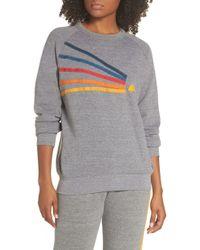 Aviator Nation Daydream Sweatshirt - Gray