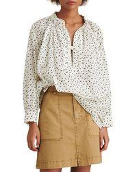 Alex Mill - Stevie Swiss Dot Tunic Shirt - Lyst