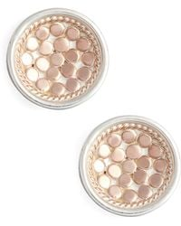Anna Beck - 'gili' Small Dish Stud Earrings - Lyst