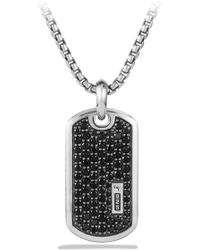 David Yurman - Pavé Diamond Tag Enhancer - Lyst