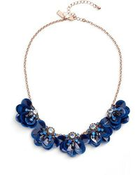 Kate Spade | Snowy Nights Sequin Necklace | Lyst