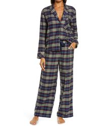 Nordstrom Flannel Pajamas - Blue