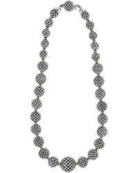 Lagos | 'caviar Forever' Lattice Ball Necklace | Lyst