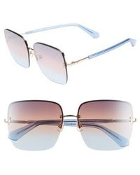 Kate Spade - Janays 61mm Rimless Square Sunglasses - - Lyst