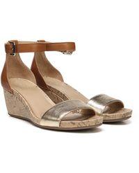 Naturalizer Cami Wedge Sandal - Brown