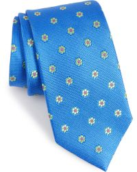 Nordstrom - Calibrate Cloisters Neat Silk Tie - Lyst