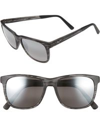 52d7d819039 Maui Jim Pokowai Arch 58mm Polarized Sunglasses in Gray for Men - Lyst