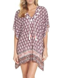 Surf Gypsy - Plum Paradise Cover-up Tunic - Lyst