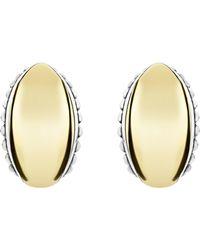 Lagos - Signature Caviar Omega Earrings - Lyst