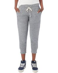 Alternative Apparel - Eco Crop Jogger Lounge Pants - Lyst