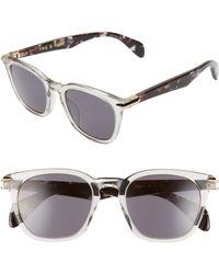 Rag & Bone 50mm Sunglasses - Multicolor