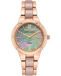 Anne Klein - Solar Ceramic Bracelet Watch - Lyst
