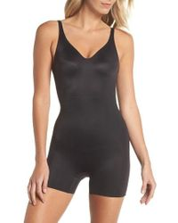 Tc Fine Intimates - Mid Thigh Shaper Bodysuit - Lyst