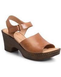 Børn | B?rn Canna Platform Sandal | Lyst