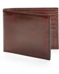 Bosca - Id Flap Leather Wallet - - Lyst