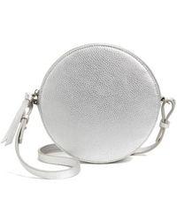 Chelsea28 - Cassie Faux Leather Crossbody Bag - Metallic - Lyst