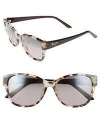 Maui Jim - Summer Time 54mm Polarizedplus2 Cat Eye Sunglasses - Lyst
