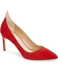 Francesco Russo - Flame Pointy Toe Pump - Lyst