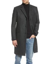 Rag & Bone Green And Gray Wool Rory Coat - Multicolor