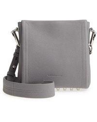 Alexander Wang - Mini Darcy Leather Shoulder Bag - Lyst