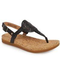 UGG - Ugg Ayden Ii T-strap Sandal - Lyst