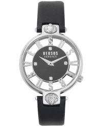 Versus - Versus By Versace Kristenhof Leather Strap Watch - Lyst