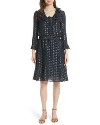Tory Burch - Jasmine Silk Blend Dress - Lyst